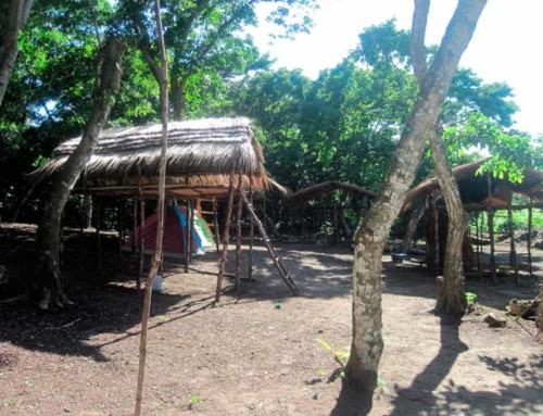 Melhora as condições do acampamento em Poilão