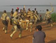 Gravando um vídeo de dança em Orango